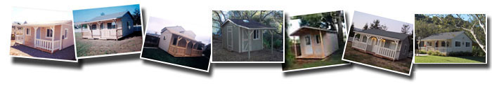 Shed Roof Style - Bonanza Packages
