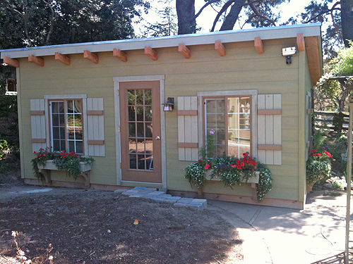 California Custom Sheds 10 X20 Shed Roof