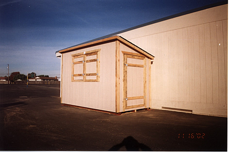 6X10 Shed