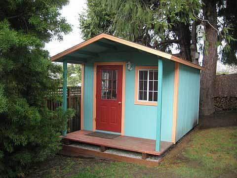 California custom sheds 12x10 bonanza roof package for Garden shed 12x10