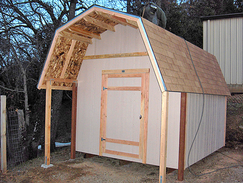 California Custom Sheds Tall Gambrel Roof