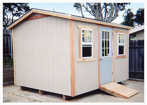 Storage Shed House