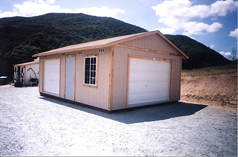 California Custom Sheds - 24x16 with Truss Package