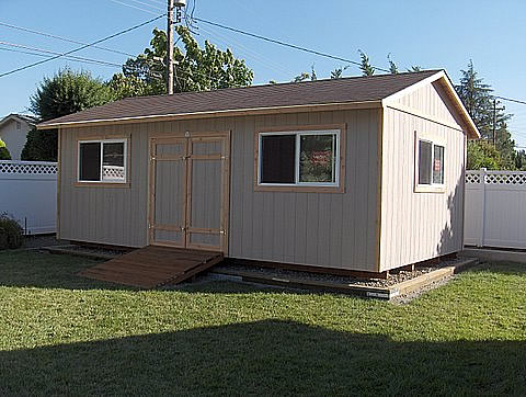 California Custom Sheds - 14x20 Truss Package