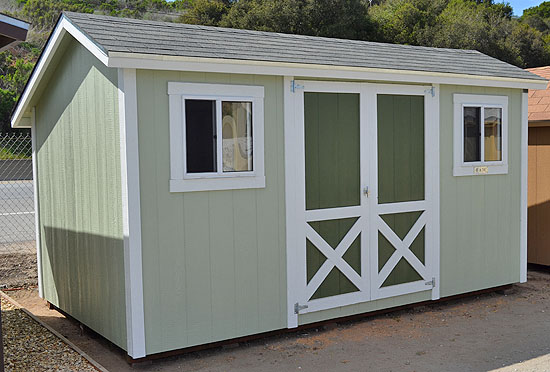 14 x 8 woodcutter 7 which is an off set peak - Garden Sheds 7 X 14